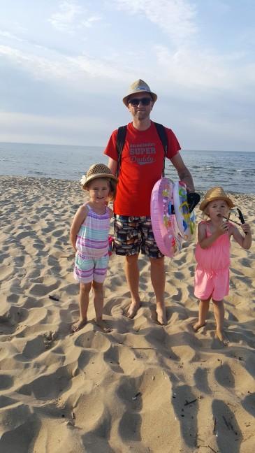 Wspaniały czas na plaży....czas wracać...